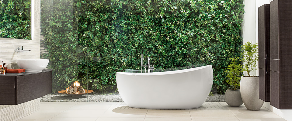 Free-standing bathtubs from Villeroy & Boch