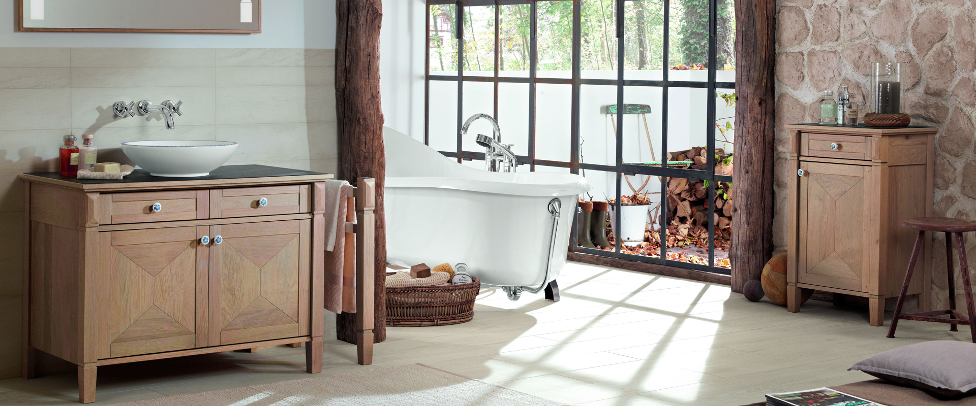Wooden bath furniture - Care recommendations - Villeroy & Boch