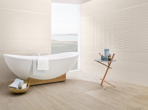 sweepingly modern design combined with a piece of nature flowmotion and nature side the dcors of the wall concept have a graphic relief with gentle waves