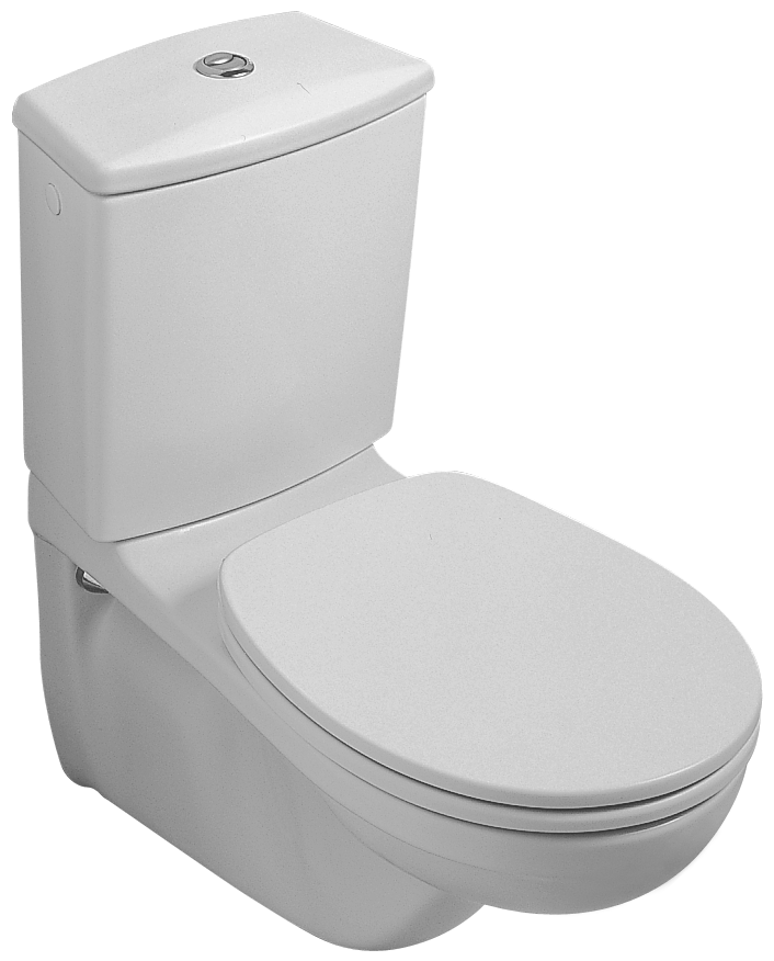 Top O.novo Washdown WC for close-coupled WC-suite 662310 - Villeroy & Boch HO72