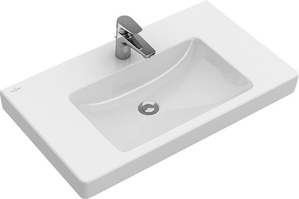 Hervorragend Subway 2.0 Vanity washbasin Angular 71758G - Villeroy & Boch QS66