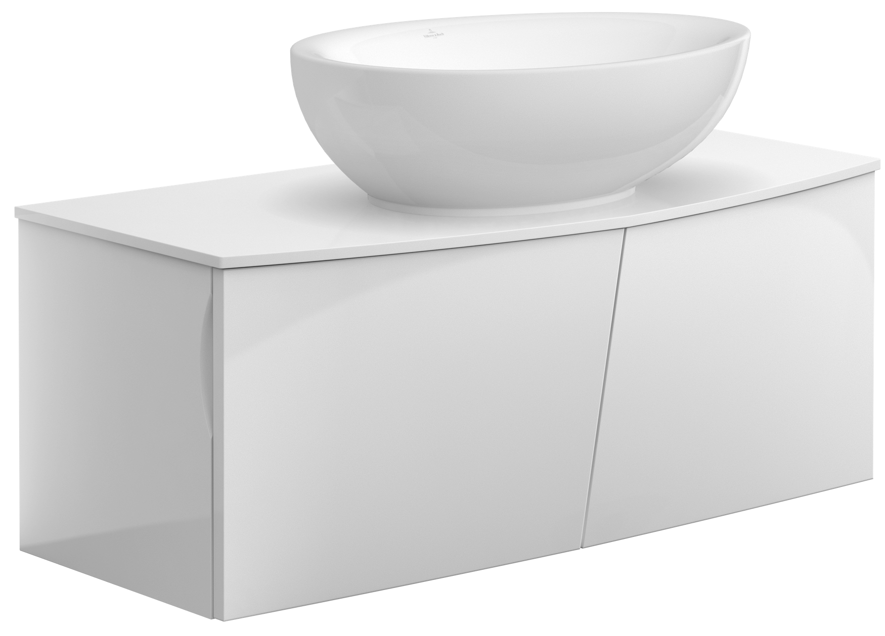 Villeroy And Boch Vanity aveo new generation vanity unit a845gf - villeroy & boch