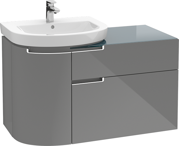 Superior Subway 2.0 Bathroom Furniture, Vanity Unit For Washbasin, Bathroom Sink  Cabinets