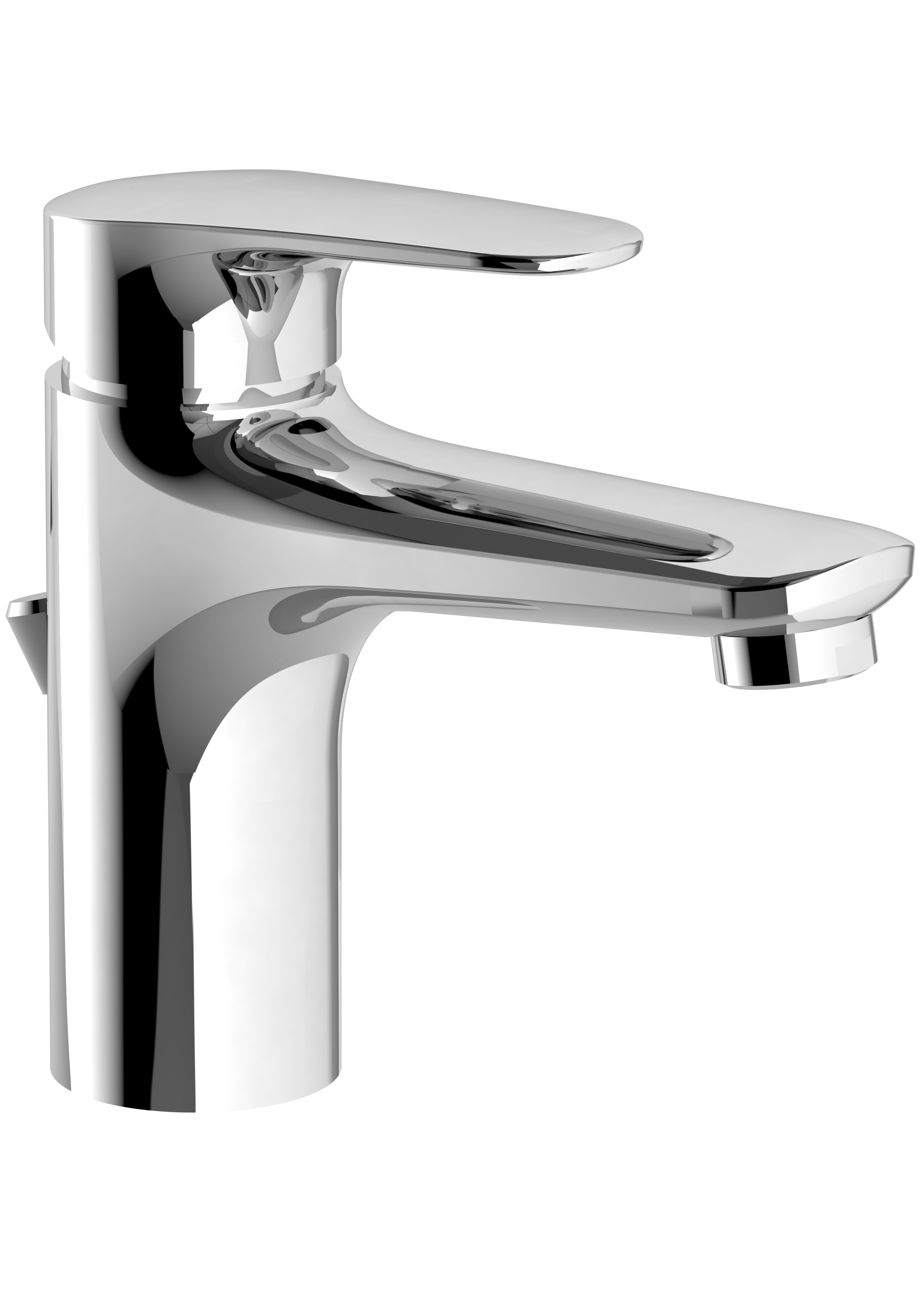 O Novo Start Single Lever Basin Mixer With Pop Up Waste