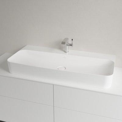 Finion Washbasins Rectangle 41681br1 Villeroy Boch