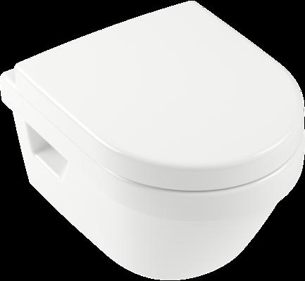 Villeroy /& Boch Architectura Combi-Pack Toilette Tiefspül-WC Oval.. 4687HR01